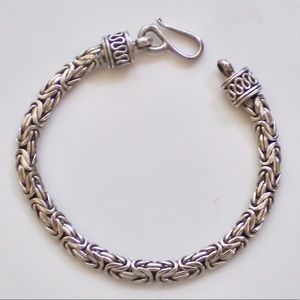 Jewelry - Handmade Byzantine Bracelet Bali Silver .925